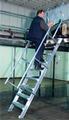 Leichtmetall Treppe
